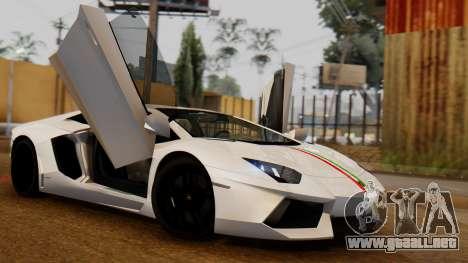 Lamborghini Aventador LP 700-4 2012 para GTA San Andreas