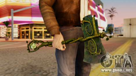 Nature Axe para GTA San Andreas tercera pantalla