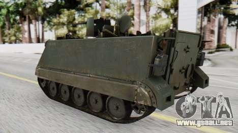 M113 from CoD BO2 para GTA San Andreas left
