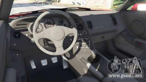 GTA 5 Toyota Supra RZ 1998 vista lateral derecha