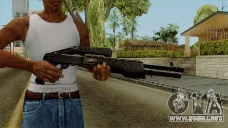 Original HD Shotgun para GTA San Andreas tercera pantalla