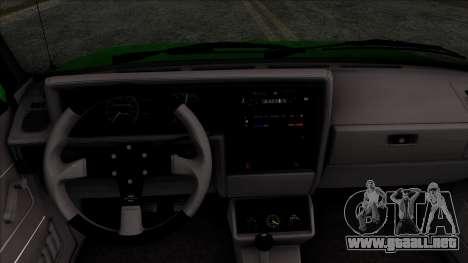 Volkswagen Golf Cabrio VR6 para la visión correcta GTA San Andreas