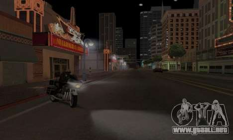 Lamppost Lights v3.0 para GTA San Andreas sucesivamente de pantalla