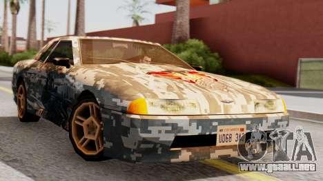 Elegy Contract Wars U.S.E.C Vinyl para GTA San Andreas