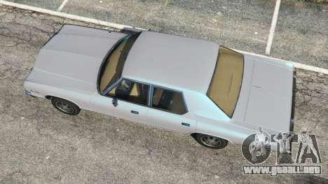 GTA 5 Dodge Monaco 1974 [Beta] vista trasera