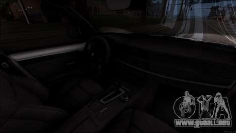 BMW X5 F15 BUFG Edition para la vista superior GTA San Andreas