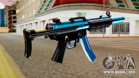Fulmicotone MP5 para GTA San Andreas segunda pantalla