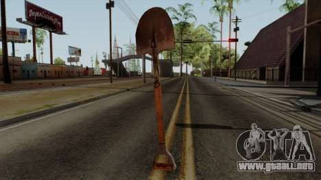 Original HD Shovel para GTA San Andreas segunda pantalla