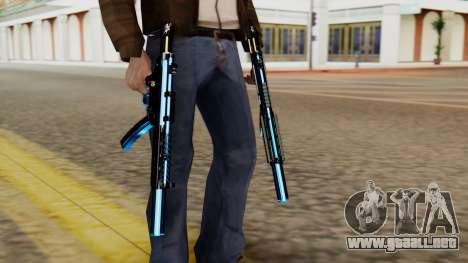 Fulmicotone MP5 para GTA San Andreas tercera pantalla