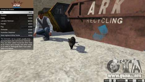 GTA 5 Animal Ark Shelter tercera captura de pantalla