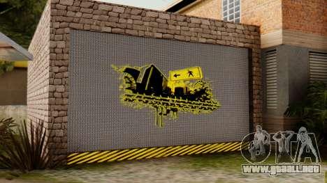 La casa de CJ para GTA San Andreas tercera pantalla