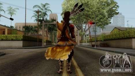 Sengoku Basara 3 - Maeda Keiji para GTA San Andreas tercera pantalla