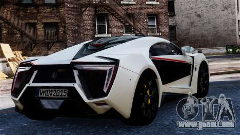 Lykan Hypersport 2015 EPM para GTA 4 left