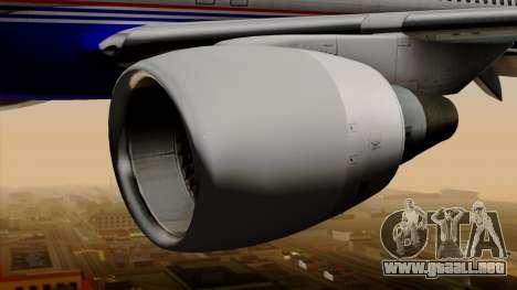 Boeing 757-200 (N757A) para la visión correcta GTA San Andreas