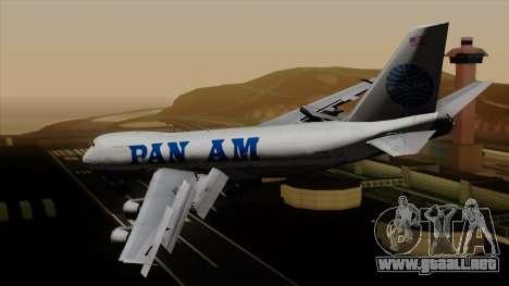 Boeing 747 PanAm para GTA San Andreas left
