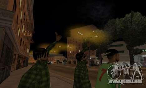Lamppost Lights v3.0 para GTA San Andreas quinta pantalla