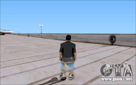 Los Santos Vagos Skin Pack para GTA San Andreas segunda pantalla