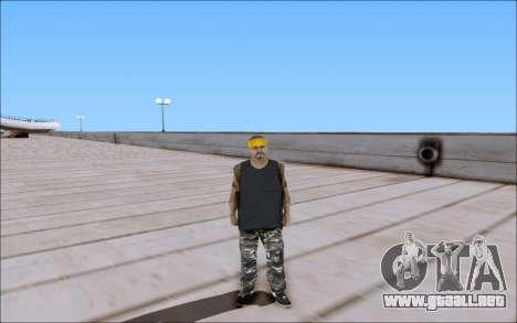 Los Santos Vagos Skin Pack para GTA San Andreas tercera pantalla