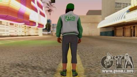 [GTA5] Fam Girl para GTA San Andreas tercera pantalla