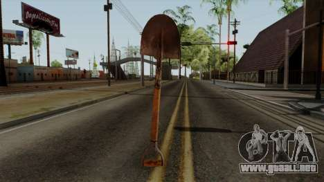 Original HD Shovel para GTA San Andreas tercera pantalla