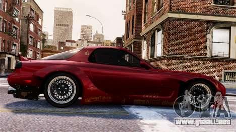 Mazda RX-7 RocketBunny EPM para GTA 4 vista superior