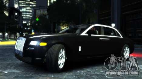 Rolls-Royce Ghost 2013 v1.0 para GTA 4 left