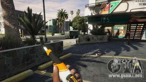 GTA 5 AK47 - Asiimov Edition quinta captura de pantalla