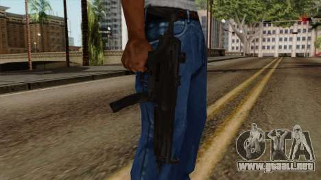 Original HD MP5 para GTA San Andreas tercera pantalla