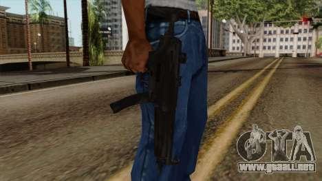 Original HD MP5 para GTA San Andreas tercera pantalla