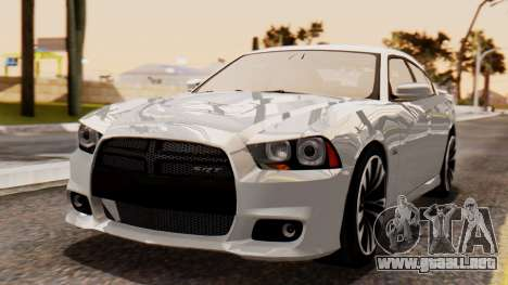 Dodge Charger SRT8 2012 LD para GTA San Andreas