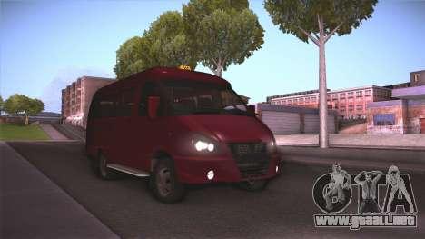 Gas 32213 para GTA San Andreas
