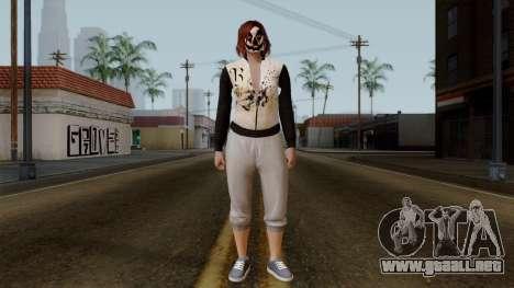 GTA 5 Online Female01 para GTA San Andreas segunda pantalla
