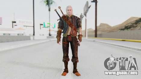 [The Witcher] Geralt para GTA San Andreas segunda pantalla