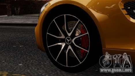 Mercedes-Benz SLS AMG GT 2016 para GTA 4 Vista posterior izquierda