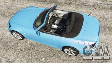 GTA 5 Honda S2000 vista trasera