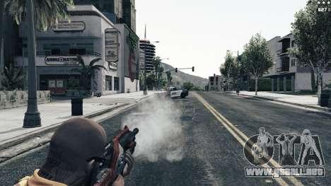 GTA 5 M-76 Revenant из de Mass Effect 2 séptima captura de pantalla