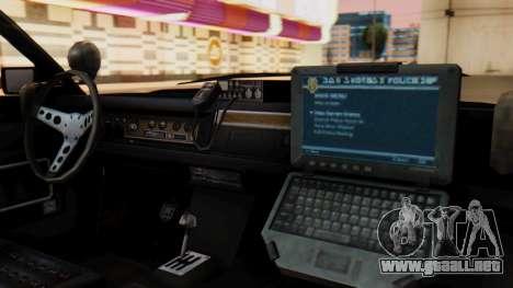 GTA 5 Albany Esperanto Police Roadcruiser para la visión correcta GTA San Andreas