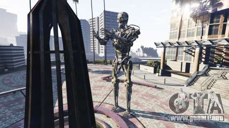GTA 5 Estatua T-800