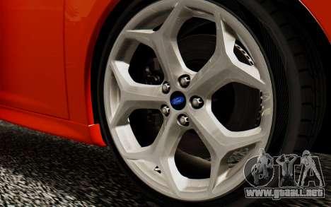 Ford Focus ST 2012 para la visión correcta GTA San Andreas