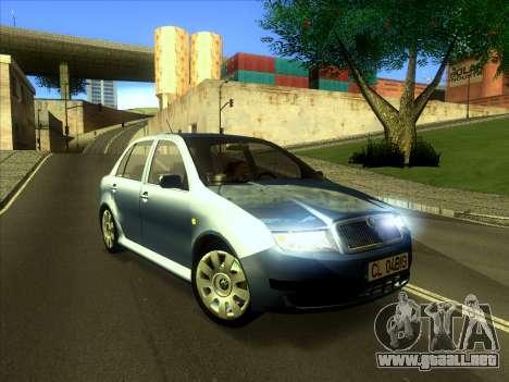 Skoda Fabia 2001 para GTA San Andreas