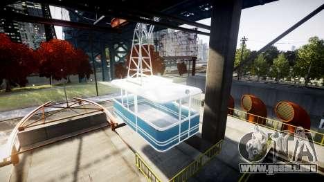 GTA V Cable Car para GTA 4 segundos de pantalla