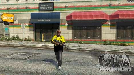 GTA 5 T-shirt para Natus Vincere Franklin cuarto captura de pantalla