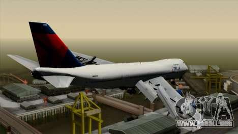 Boeing 747 Delta para GTA San Andreas left