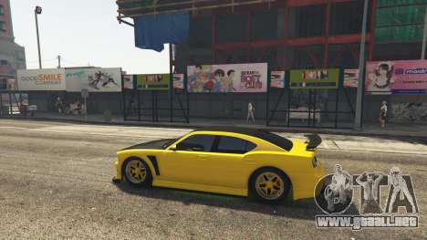 Downtown Anime Mod 1.3 para GTA 5