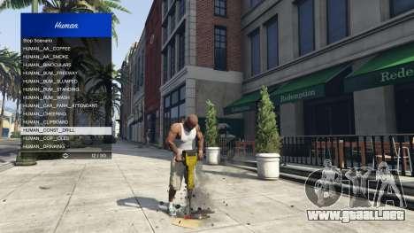GTA 5 Scenario Menu 1.1 séptima captura de pantalla