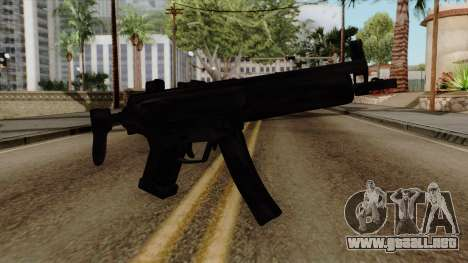 Original HD MP5 para GTA San Andreas
