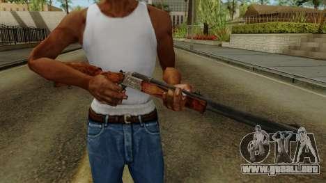 Original HD Rifle para GTA San Andreas tercera pantalla