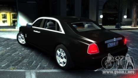 Rolls-Royce Ghost 2013 v1.0 para GTA 4 visión correcta