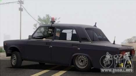 VAZ 2107 Avtosh Style para GTA San Andreas