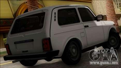 VAZ 2121 Niva BUFG Edición para GTA San Andreas left